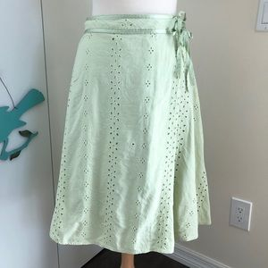 Nicole by Nicole Miller sz 6 Eyelet Lace Skirt